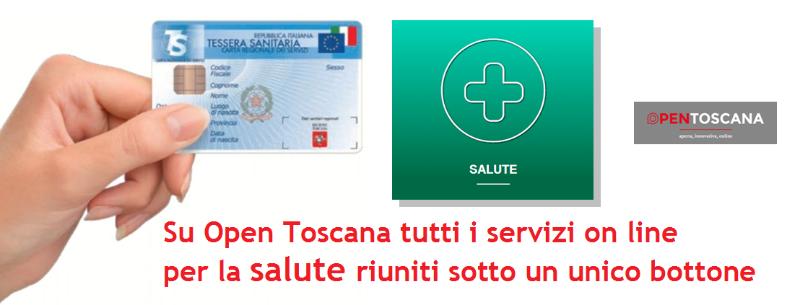 Su Open Toscana tutti i servizi on line per la salute riuniti sotto un unico bottone