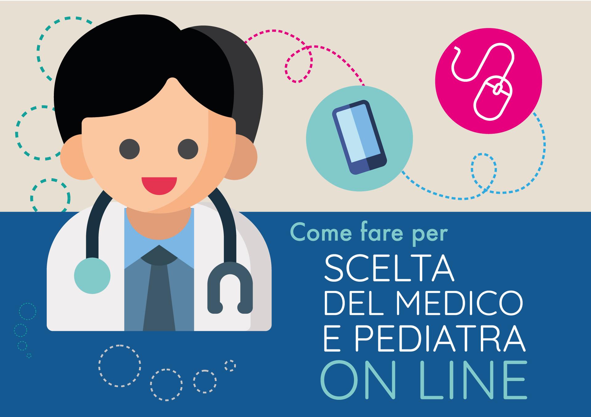 come fare per scelta del medico e pediatra on line